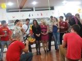 Поздравление от танцевальной студии Viva La Salsa на 3-х летие   ALV 01.11.13